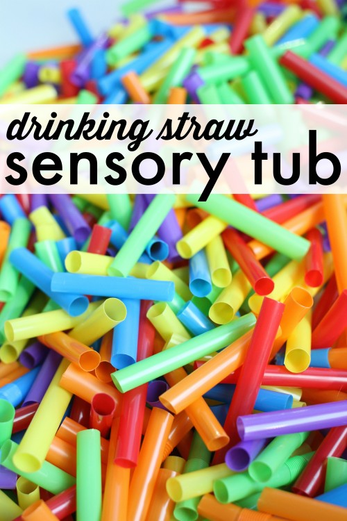 Sensory-Tub-with-Drinking-Straws-500x750